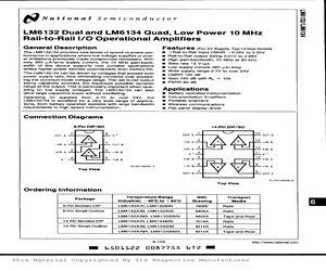 LM6132AIM.pdf