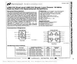 LM6132BIMX.pdf