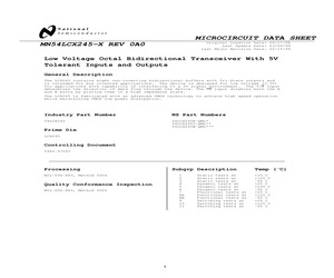 54LCX245NOPB.pdf