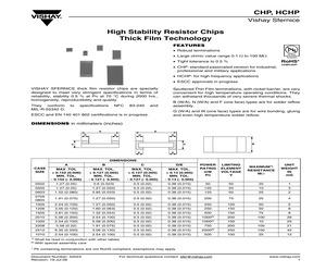 HCHP0805K1010DNT.pdf