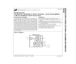 DS92LV1212TMSA/NOPB.pdf