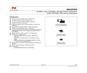 M25P80-VMW6TP.pdf