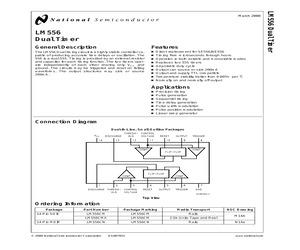 LM556CM/NOPB.pdf