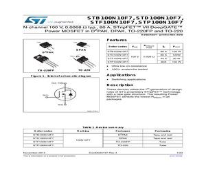 STB100N10F7.pdf