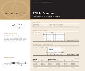 MFR100FBF115R.pdf