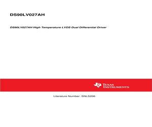 DS90LV027AHM/NOPB.pdf