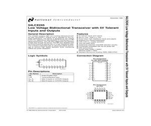 54LCX245W-QMLNOPB.pdf