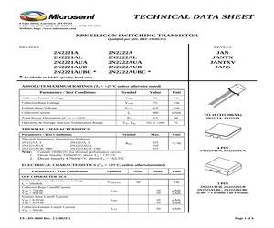 DATA-2N2222AUBJANTXV.pdf