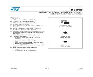 M25P80-VMW6TG.pdf