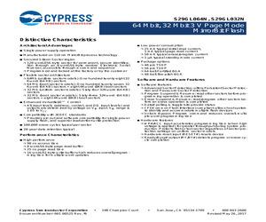 S29GL064N90TFI030.pdf