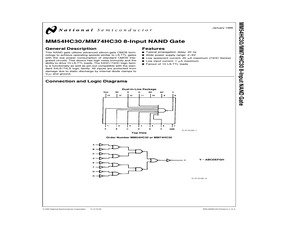 MM74HC30N.pdf