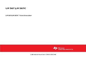 LM567CM/NOPB.pdf